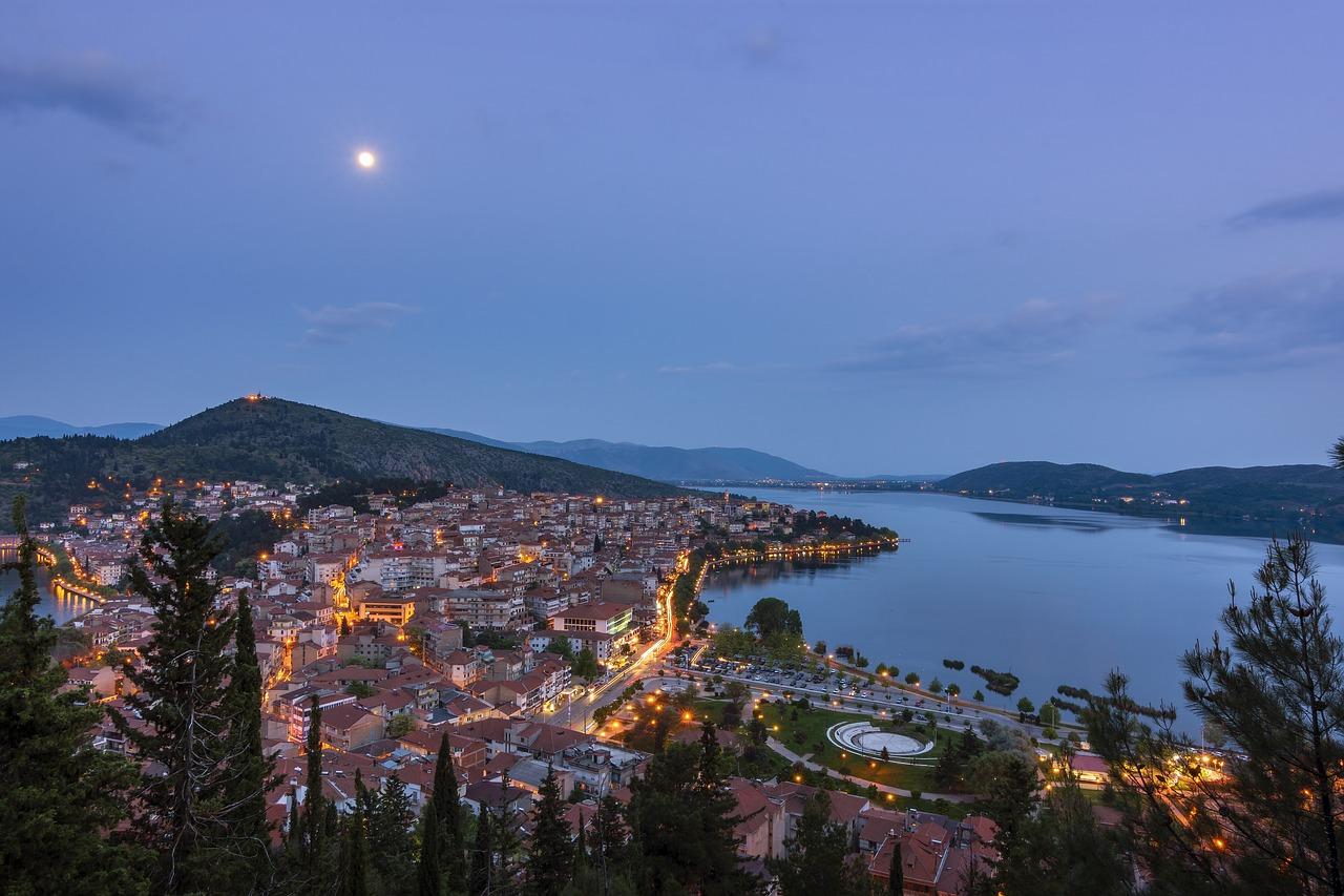 Η πόλη της Καστοριά από ψηλά