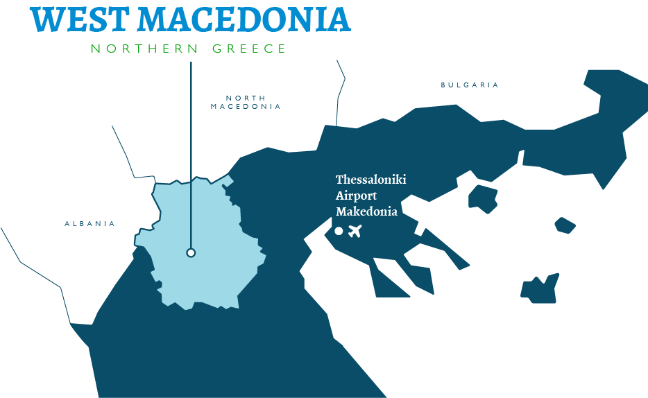 map west macedonia